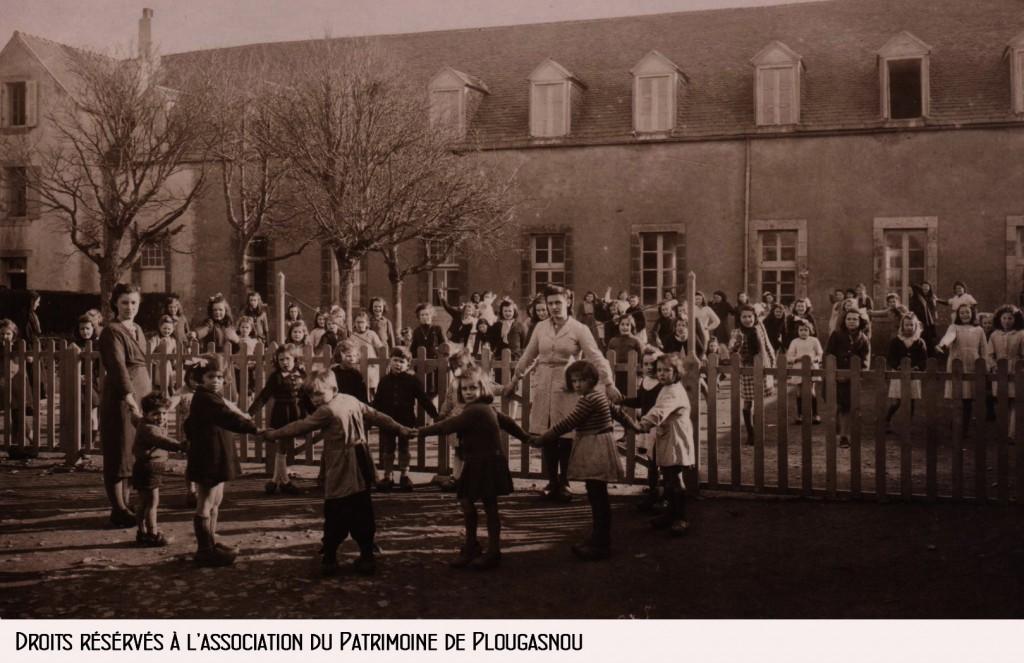 école Bon Sauveur années 50 bandeau copie