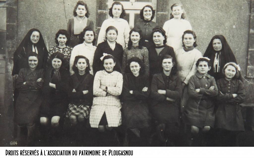 école Bon sauveur, 1945-46 bandeau