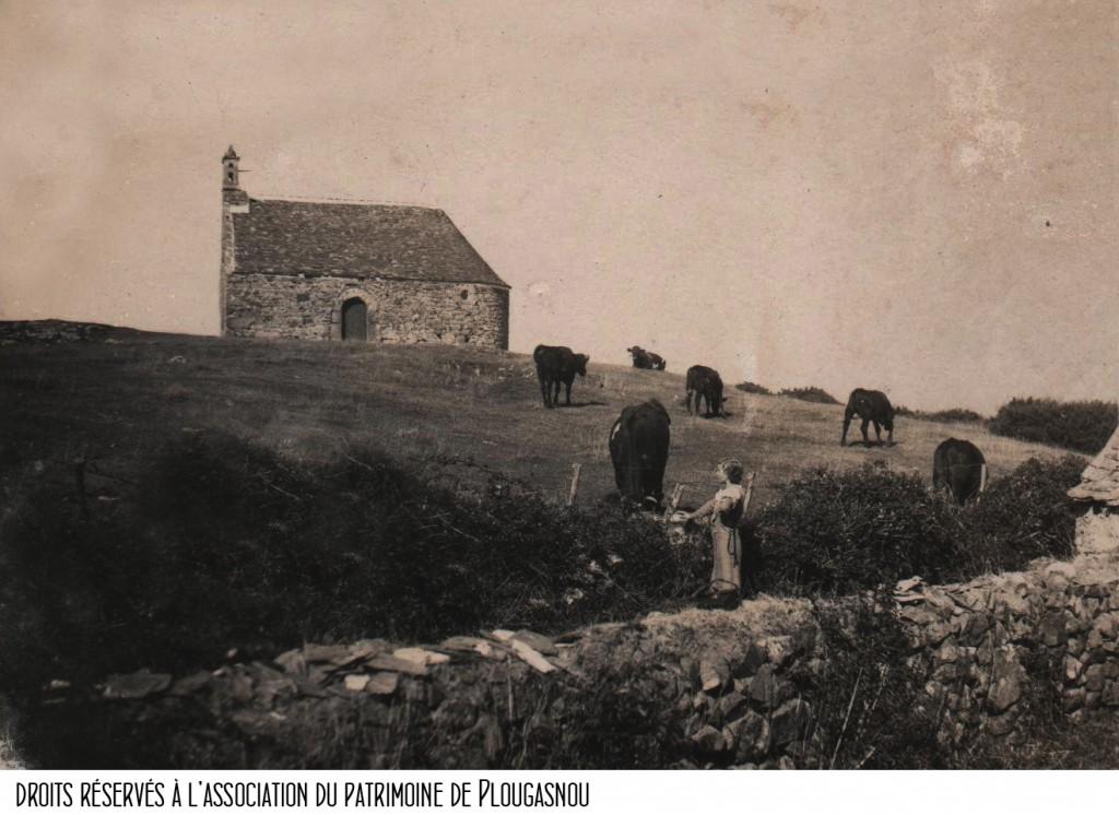 Primel, Chapelle Sainte-Barbe, vers 1920 bandeau