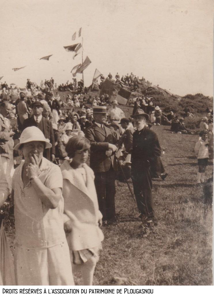 Primel, régates 1925, Rhun Prédou, Maréchal FOCH bandeau