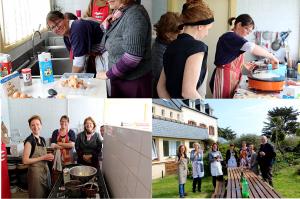 Participants de l'atelier crêpe du printemps 2016