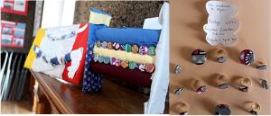 Bijoux exposé à la boutique des créateurs